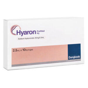 Skin Booster Hyaron, DongKook, Preporation for injection, Skin Boosters, Wrinkles, Hyaron, Rejuvenating, Hyaluronic acid, Hyaluronic acid skin, Dongkook Pharmaceutical