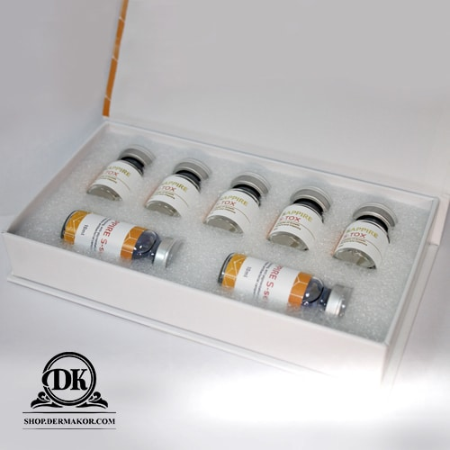 Sappire S-Tox, Sappire, Dermakor, Pigmetation, Preporation for injection, Skin Boosters, Wrinkles