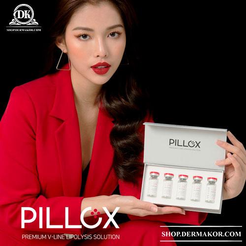 PILLOX Premium V-line Lipolysis Solution, Fat Disslovers, Wrinkles, LipoLab, Wrinkles, Beauty Injection, Pillox, Humedix, Fat correction